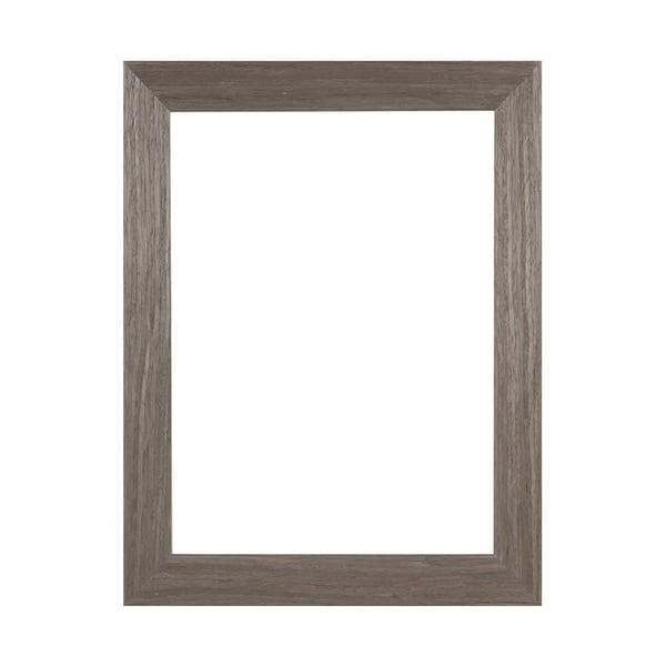 """1 1/2"""" Grey Woodgrain Ready Made Frame 