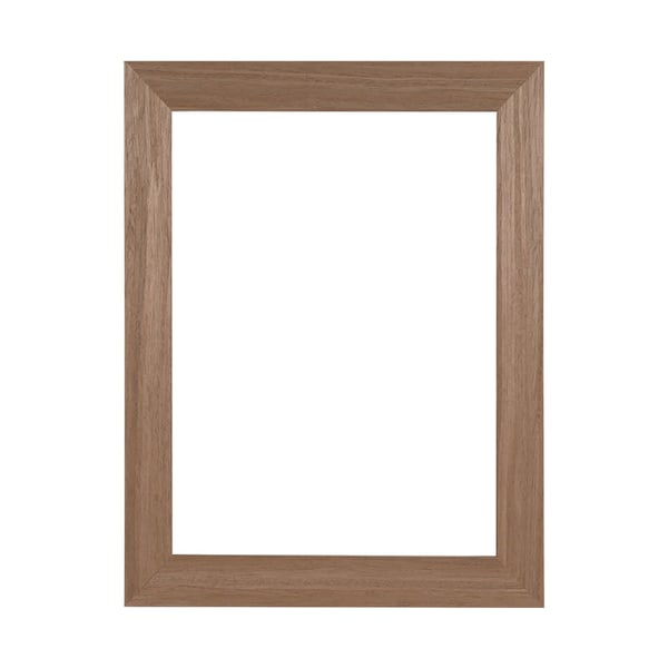 """1 1/2"""" Light Brown Woodgrain Ready Made Frame 