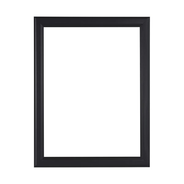 """1 1/8"""" Matte Black Ready Made Frame 