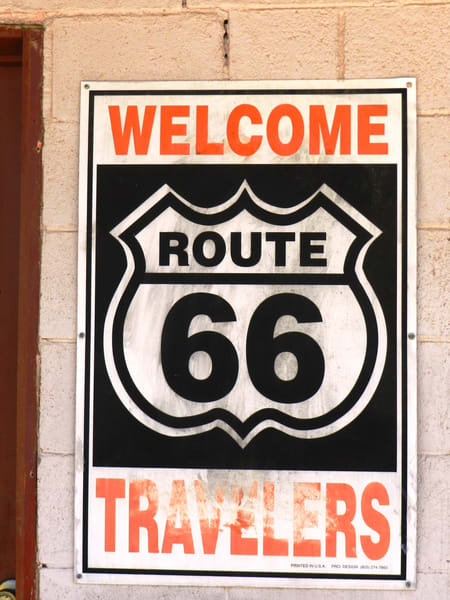 Welcome Route 66 Traveler
