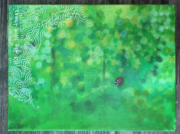 It's The Little Things  Art | Angelica Hoyos Studio