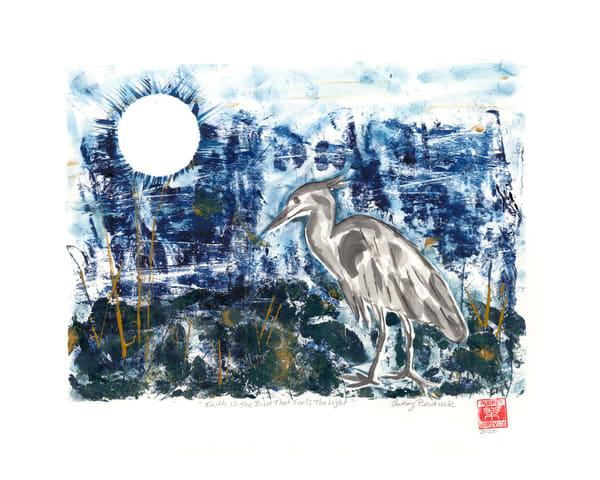 Faith is the Bird that Feels the Light - Audrey Bordvick