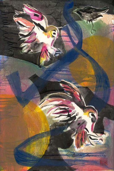 Owls at Prey - Audrey Bordvick