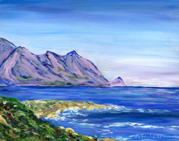 Evening Near The Cape, Gordon's Bay Art | Linda Sacketti