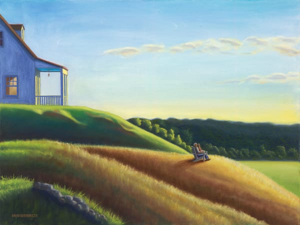 Folks Who Live On The Hill Art | The Art of David Arsenault