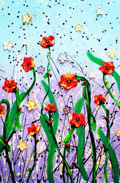 Field Of Flowers Art | Courtney Einhorn