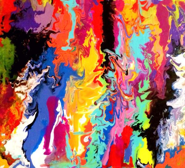 Kaleidoscope Art | Courtney Einhorn