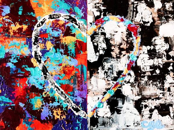 Opposites Attract Art   Courtney Einhorn