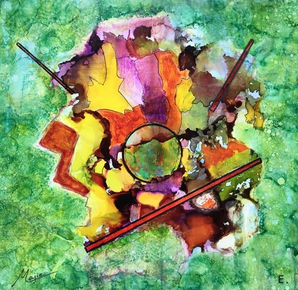 Love On The Forest Floor  Art | Maitri Studio