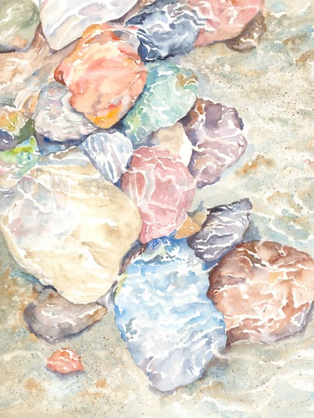 Pebbles in a Stream - Denise Jackson