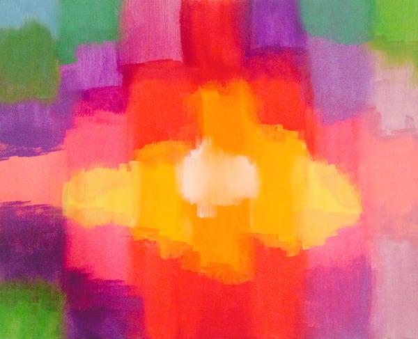 Blurred Squares Art | Courtney Einhorn