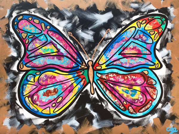 The Butterfly Effect Art | Courtney Einhorn