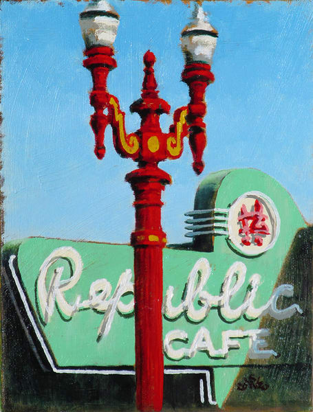 Republic Café Art | Fountainhead Gallery