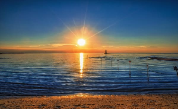 """Lewes Beach Lighthouse"" Photography Art   Inspired Imagez"