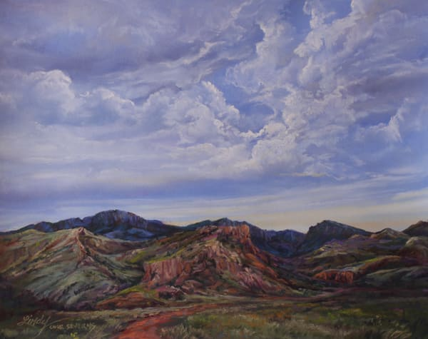 Lindy Cook Severns Art | Into the Canyon, print