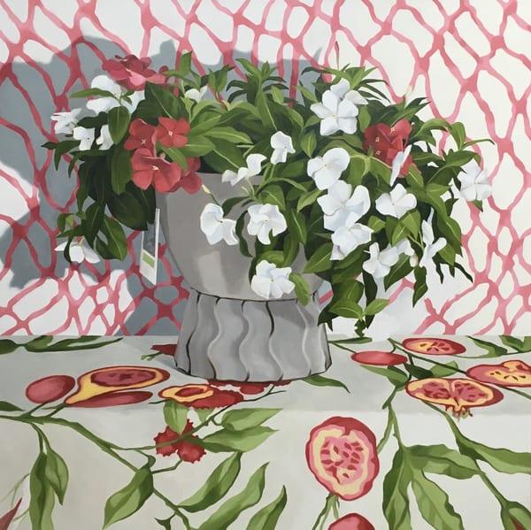 Rhapsody In Pink Art | Suzanne Aulds Studio
