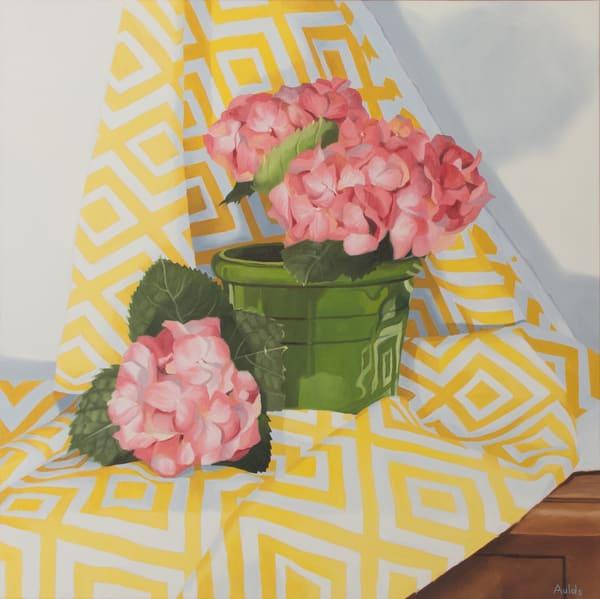 Pink Hydrangeas Art | Suzanne Aulds Studio