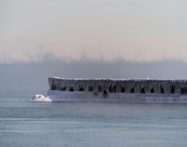 Frozen Breakwater