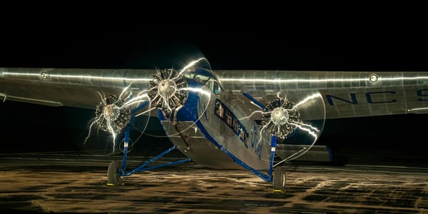 Ford Tri Motor Semi Panorama Photography Art | Ken Smith Gallery