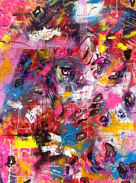 Eye Of The Leopard Art | Courtney Einhorn