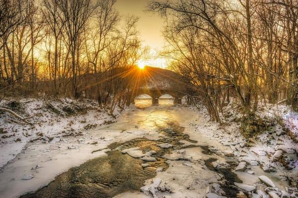 """Winter Over Susquehanna River"" Photography Art   Inspired Imagez"