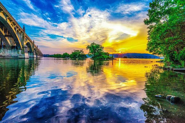 """Dusk Over Columbia, Pa"" Photography Art   Inspired Imagez"