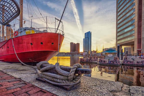 """""""Under The Boat"""" ~ Inner Harbor Photography Art   Inspired Imagez"""