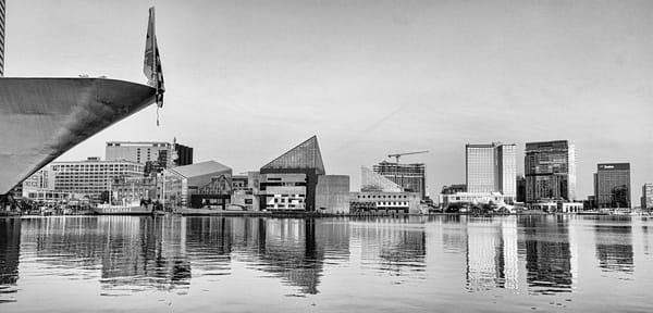 """""""Inner Harbor"""" Black And White Photography Art   Inspired Imagez"""