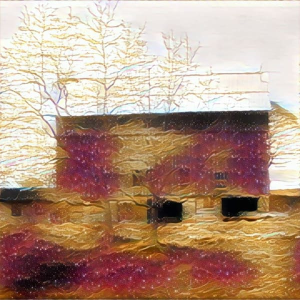 """""""Abstract Red Barn"""" Photography Art   Inspired Imagez"""