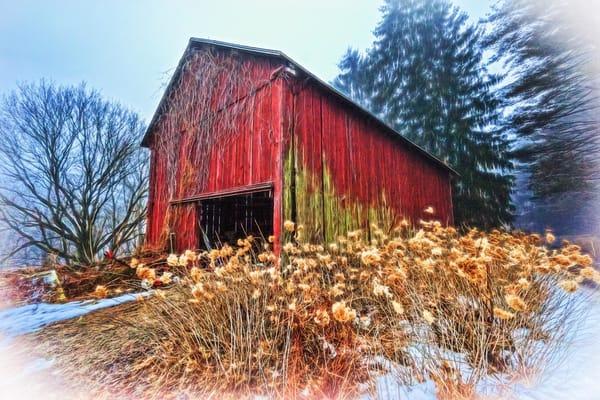 """Wrightsville Red Barn"" Photography Art   Inspired Imagez"