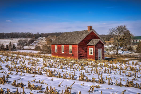 """""""Red School House"""" Dallastown, Pa Photography Art   Inspired Imagez"""