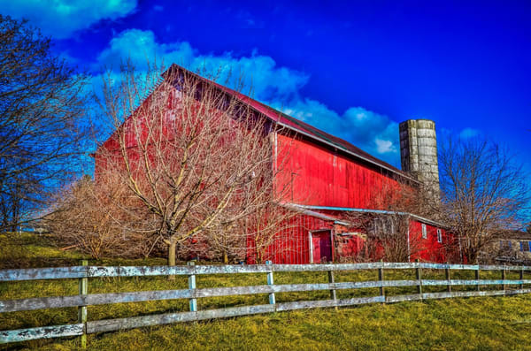 """""""The Perfect Red Barn"""" Photography Art   Inspired Imagez"""