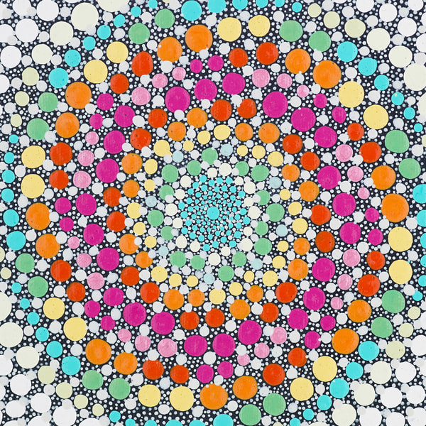Lollipop, Lollipop Swirly Painting