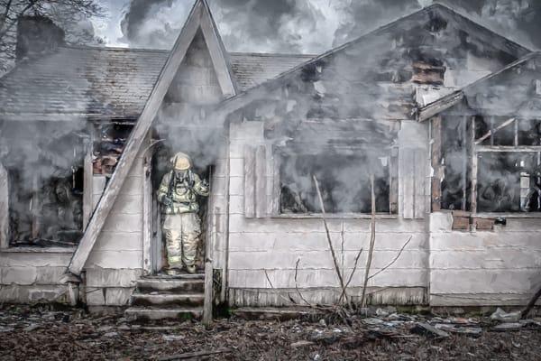 Ghost In The Smoke Art | DanSun Photo Art