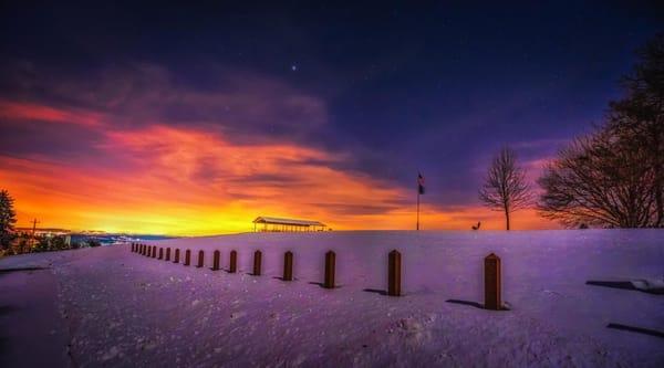 """Winter At Sam Lewis Park"" Photography Art | Inspired Imagez"