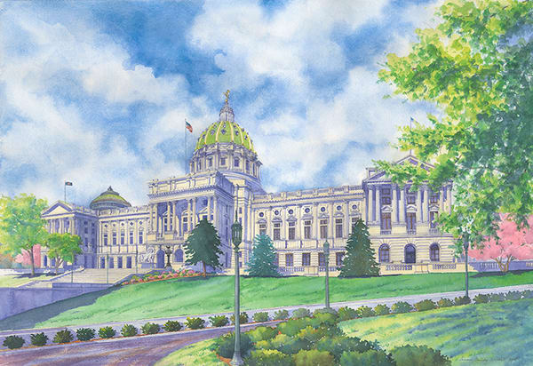 Pennsylvania State House Capital Building