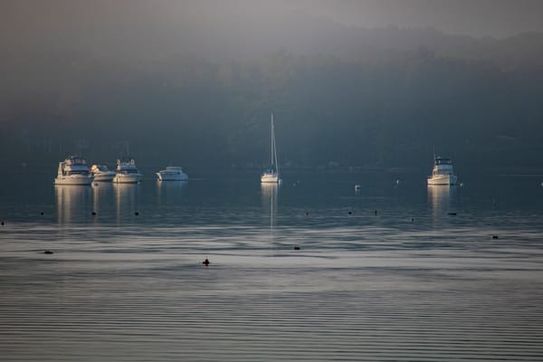 Drifting In The Mist Photography Art | David Lawrence Reade