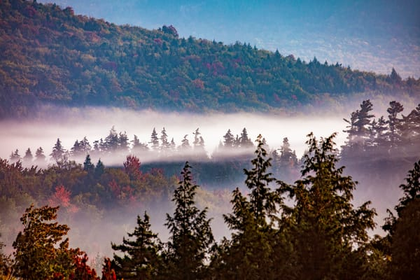 River Of Mist Photography Art | David Lawrence Reade
