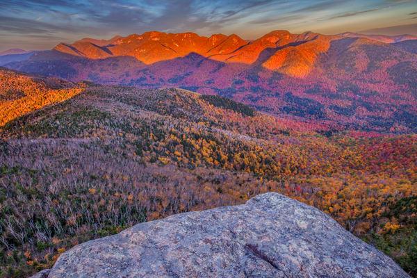 Sun Kissed Peaks Photography Art | David Lawrence Reade