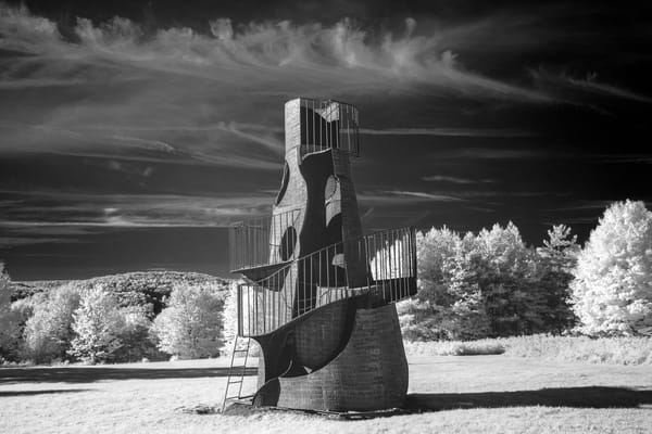 The Castle Tower (Horizontal) Photography Art | David Lawrence Reade