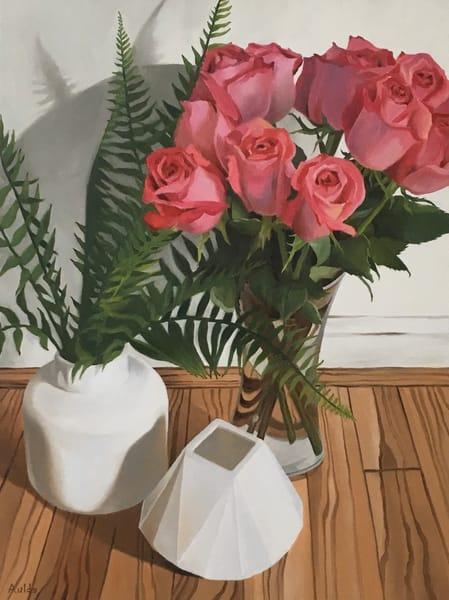 Birthday Bouquet Art | Suzanne Aulds Studio