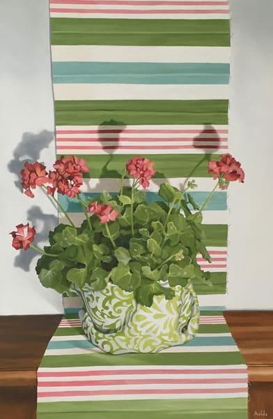Geranium Art | Suzanne Aulds Studio