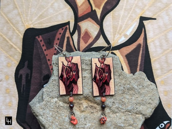 Love Blooded_No. 3 Earrings