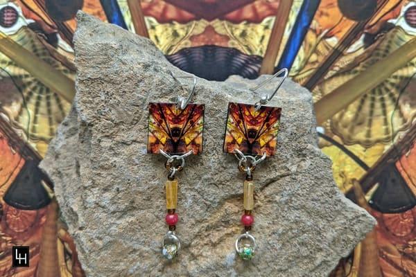 Mirror 1675_No. 2 Earrings