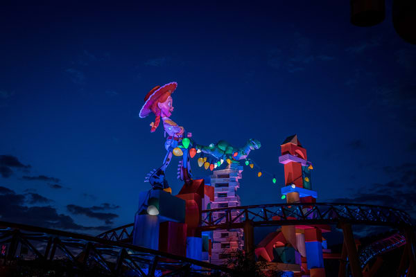 Jessie And Rex Slinky Dog At Night Photography Art   William Drew Photography