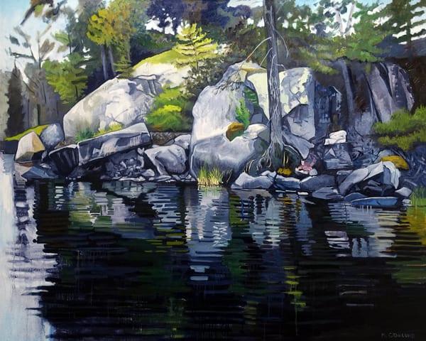 Grassy Island Rocks by Mark Granlund