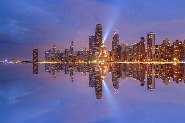 Chicago Skyline Gallery: Shop Prints | William Drew Photography