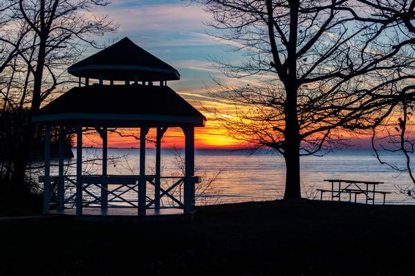 Lake Erie Sunset Photography Art | David Lawrence Reade