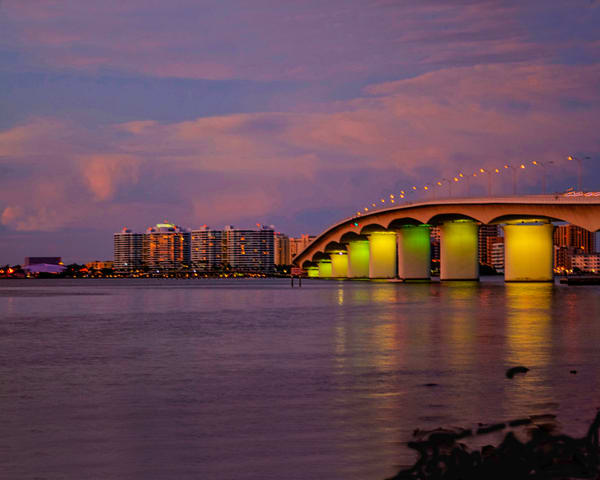 Bridge At Twilight Photography Art | It's Your World - Enjoy!
