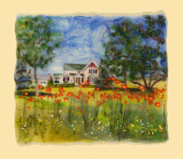 """Come Home To Elderberry"" fine art print by Paula Jean Roberts."